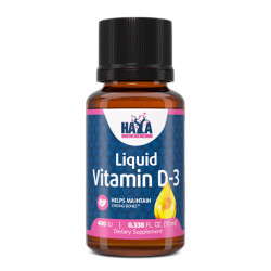 Liquid Vitamin D-3 400 IU - 10ml