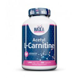 Acetil L-Carnitina 1000 mg - 100 caps