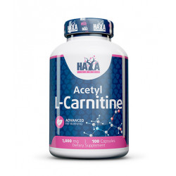 Acetyl L-Carnitine 1000 mg - 100 caps