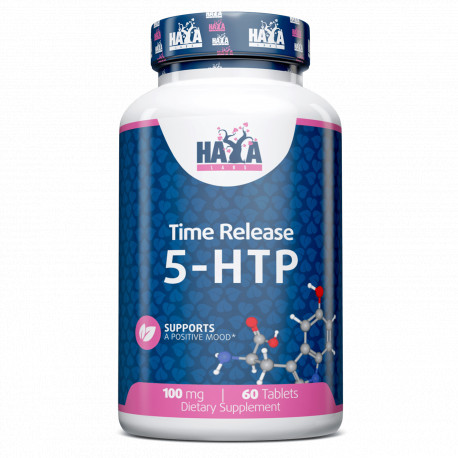 5-HTP Time Release 100 mg. - 60 Tabs