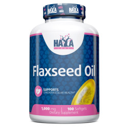 Flax Seed Oil Organic 1000mg / 100 Softgels