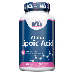 Sustained Release Alpha Lipoic Acid 300mg. / 60 Vtabs