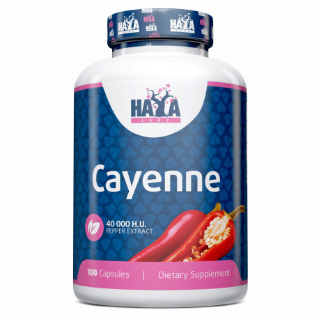 Cayenne Pepper Extract 40000 H.U. - 100 Caps.