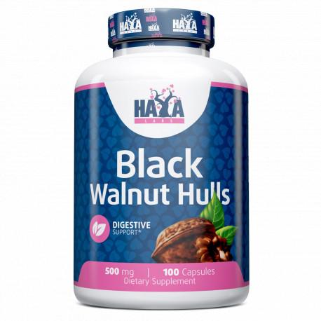 Black Walnut Hulls 500mg. - 100 caps.