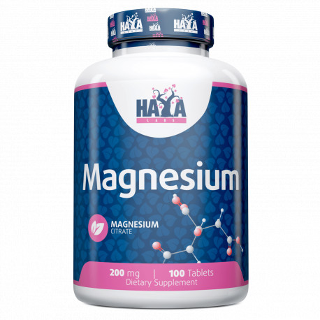 Magnesium Citrate 200mg / 100 Tabs