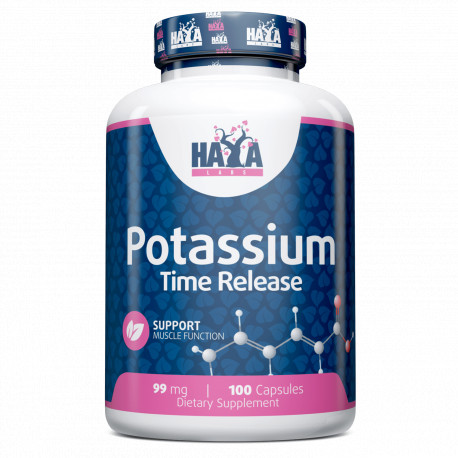 Potasio 99 mg - 100 Vcaps Liberación Sostenida