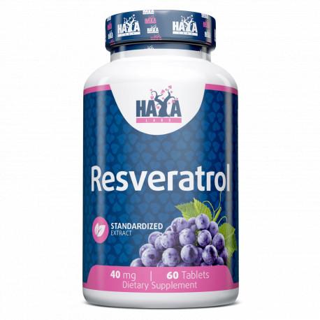 Resveratrol 40mg. - 60 Tabs.