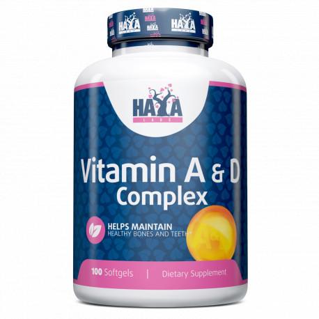 Vitamina A & D Complex 100 Softgels