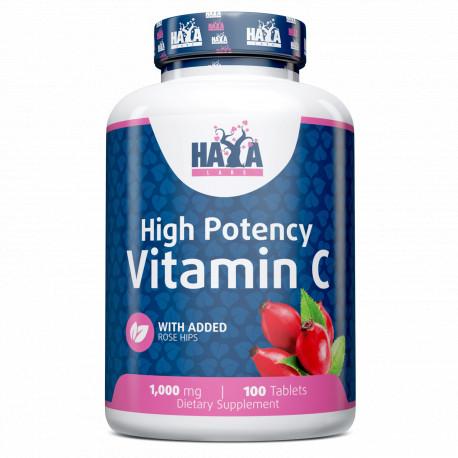 Vitamina C con Rosa Mosqueta 1000 mg 100 VTabs