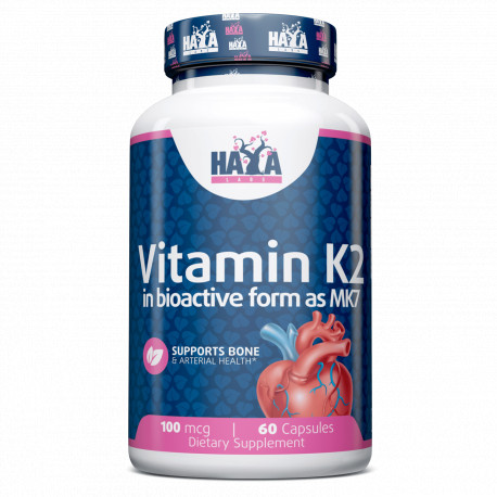 Vitamina K2-Mk7 100 mcg 60 Caps