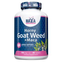 Horny Goat Weed Extract 750 mg + MACA - 90 Tabs.