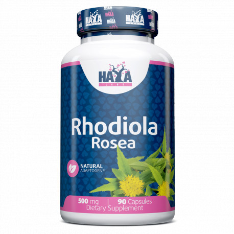 Rhodiola Rosea Extract 500mg - 90 Caps.