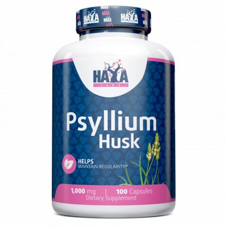 Psyllium Husk 500 mg. - 100 caps.