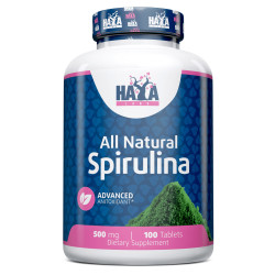 All Natural Spirulina 500mg. / 100 Vtabs.