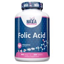 Folic Acid 800mcg / 250 Tabs
