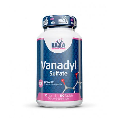 Vanadyl Sulfate 10mg - 100 Tabs.