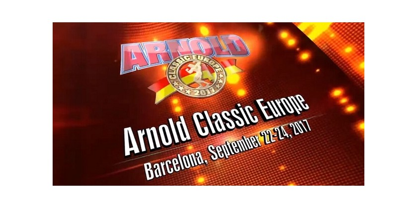 Haya Labs invites you to join Arnold Classic Europe!